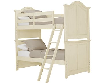 Claire White Bunk Bed