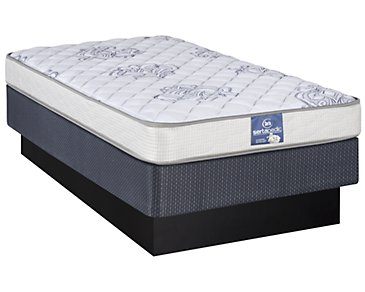 Serta Sertapedic Glenlawn Plush Innerspring Mattress Set