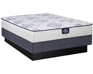 Serta Perfect Sleeper Dalmore Plush Innerspring Mattress Set