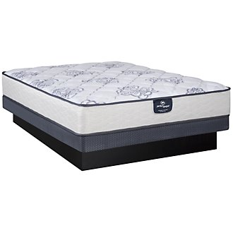 Serta Perfect Sleeper Dalmore Plush Innerspring Low-Profile Mattress Set