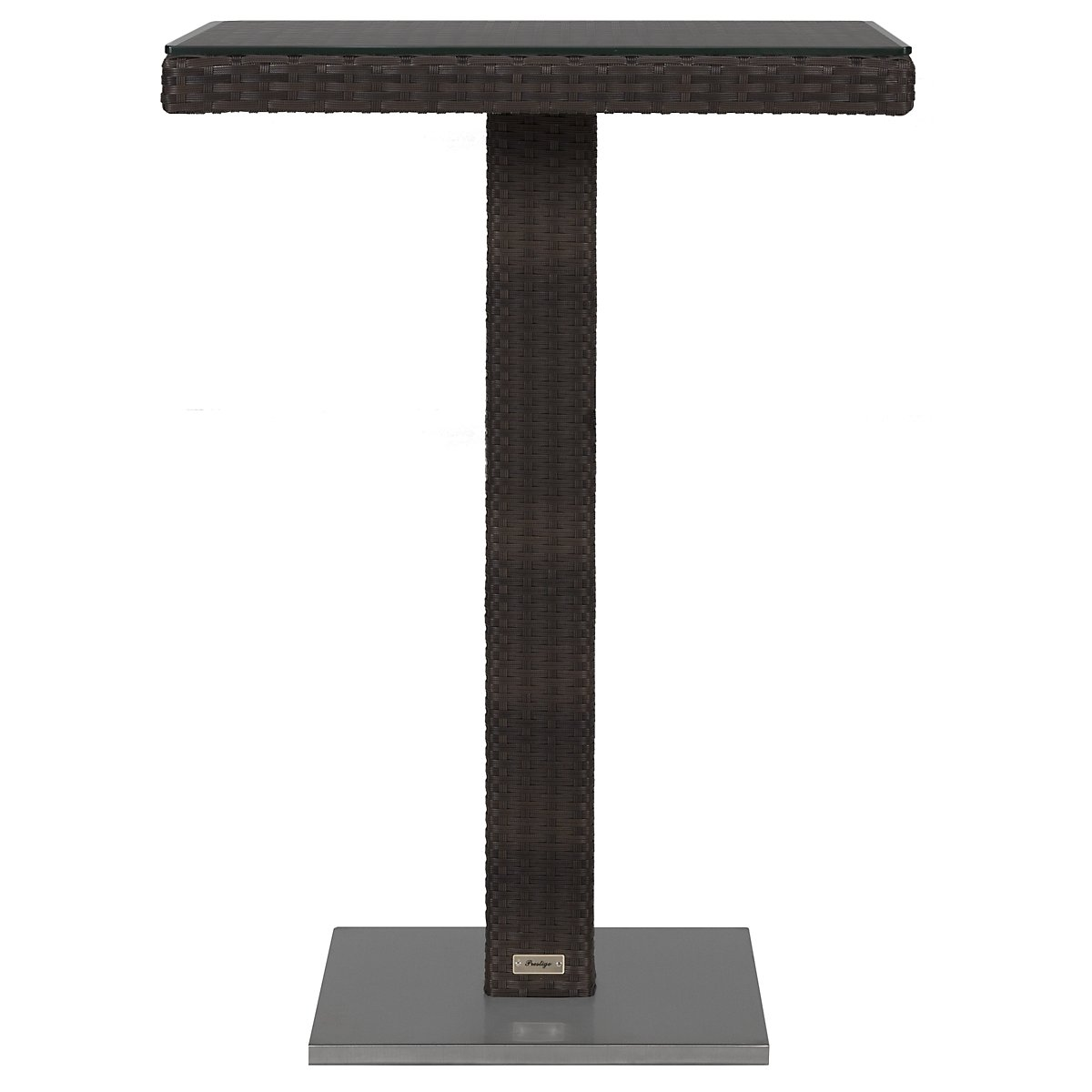 "Zen Dark Tone 27"" Pub Table"