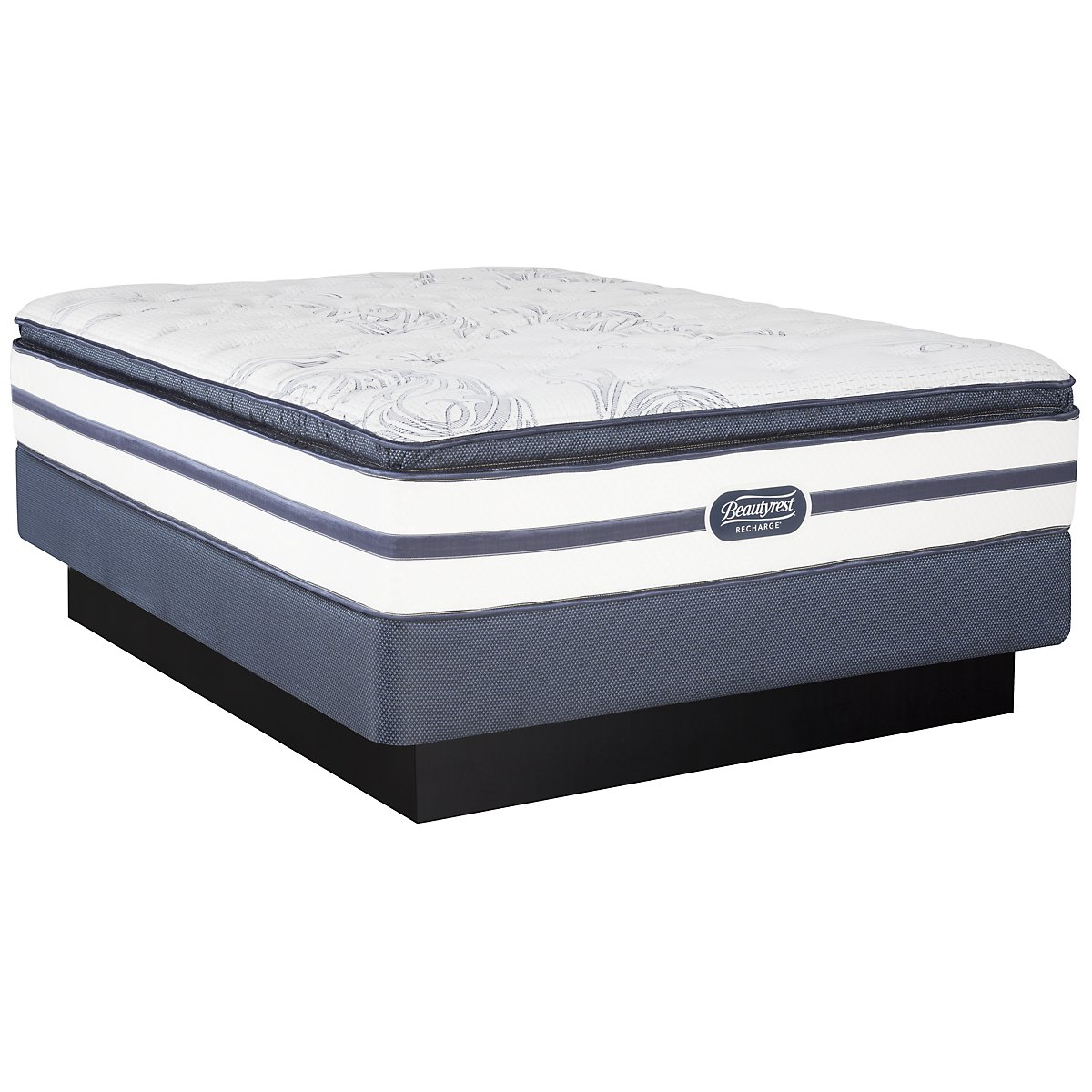 Beautyrest Recharge Audrina Luxury Firm Innerspring Pillow Top Mattress Set
