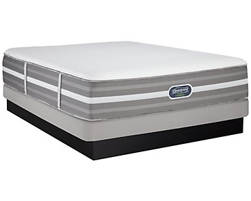 Beautyrest Raegan Ultimate Plush Hybrid Low-Profile Mattress Set