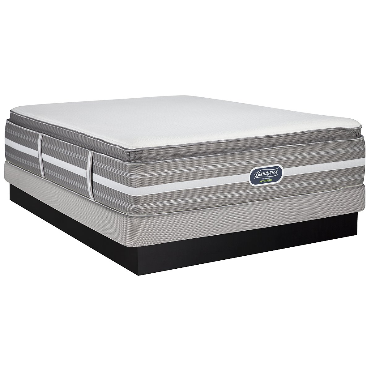 Beautyrest Ryleigh Ultimate Luxury Plush Hybrid Low-Profile Mattress Set