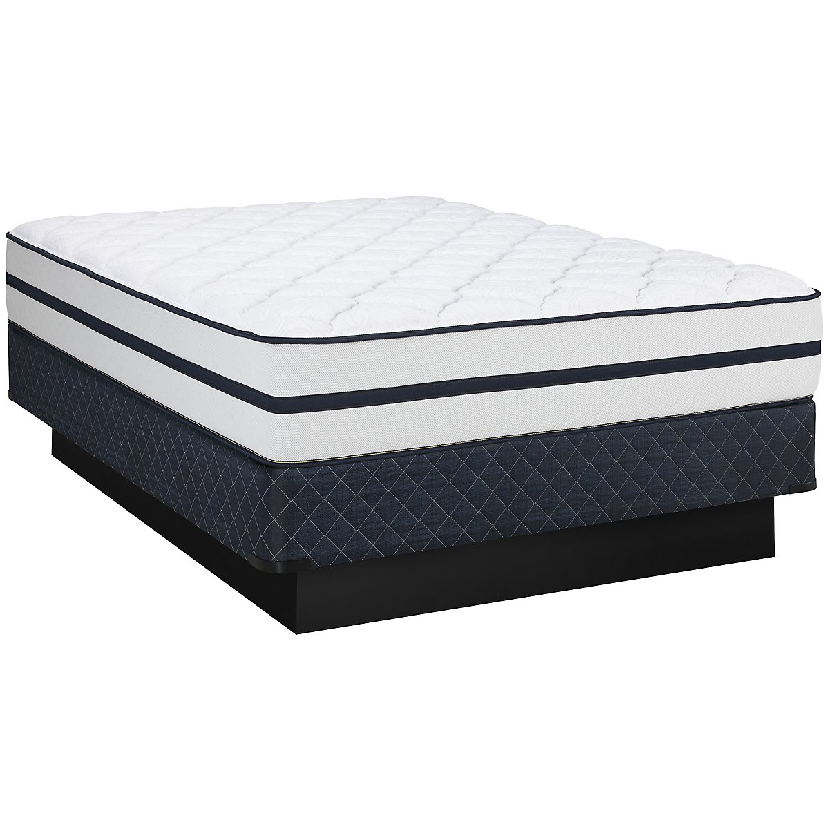 Kevin Charles Marina Luxury Firm Innerspring Mattress Set