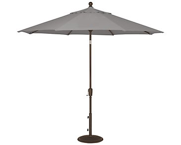 Maui Gray Umbrella Set