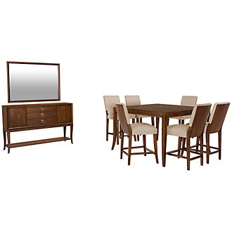 Savoy Mid Tone High Dining Room