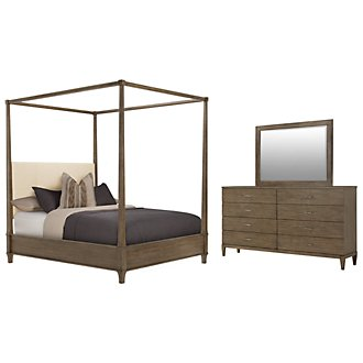 Product Image: Preston Gray Canopy Bedroom
