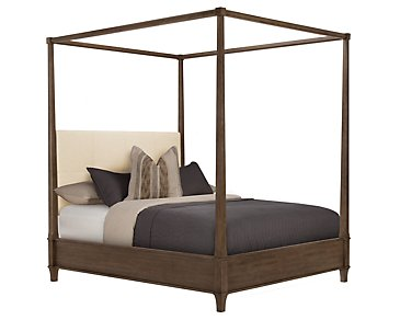 Preston Mid Tone Canopy Bed