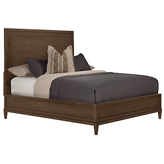 Product Image: Preston Mid Tone Wood Platform Bed