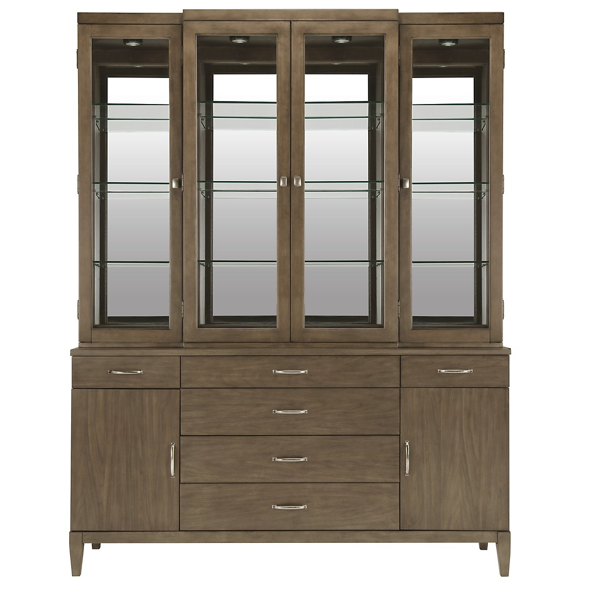 Preston Gray China Cabinet
