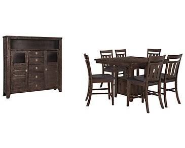 Kona Grove Dark Tone High Large Dining Room