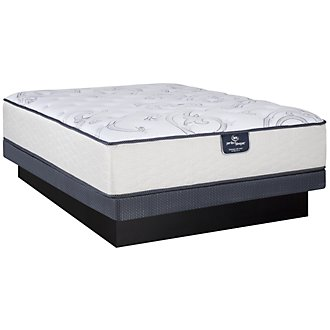 Serta Perfect Sleeper Mentor Luxury Firm Innerspring Low-Profile Mattress Set