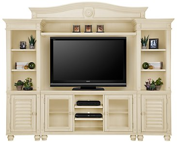 Claire White Entertainment Wall