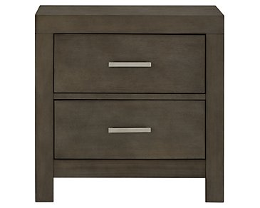 Omaha Gray Nightstand