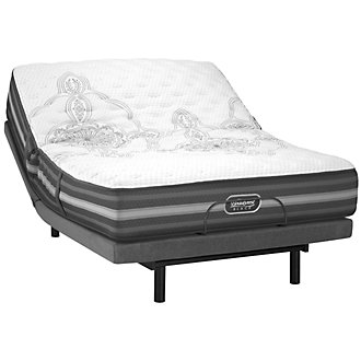 Beautyrest Black Calista Extra Firm Innerspring Deluxe Adjustable Mattress Set