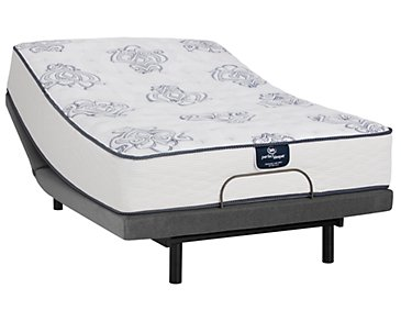 Serta Perfect Sleeper Belltower Firm Innerspring Deluxe Adjustable Mattress Set