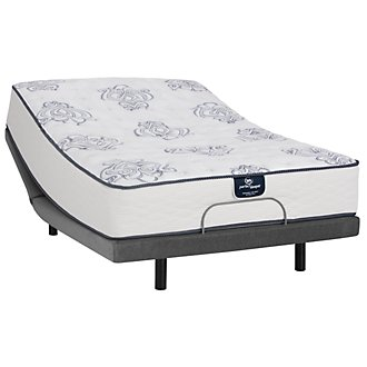 Serta Perfect Sleeper Belltower Firm Innerspring Elite Adjustable Mattress Set