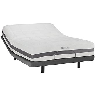 Kevin Charles Banzai2 Ultra Plush Memory Foam Elite Adjustable Mattress Set