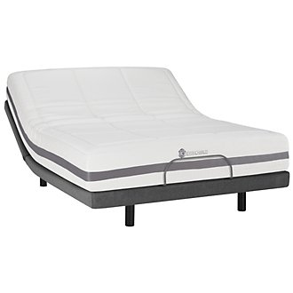 Kevin Charles Dreamer2 Plush Memory Foam Elite Adjustable Mattress Set