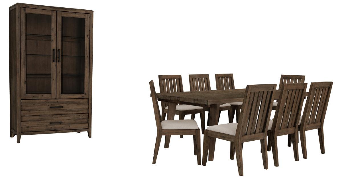 City Furniture Casablanca Dark Tone Rectangular Dining Room