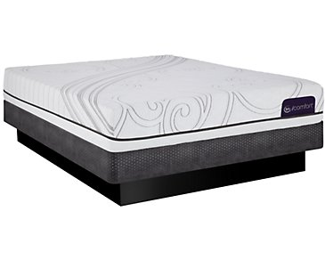 Serta iComfort Foresight Gel Low-Profile Mattress Set