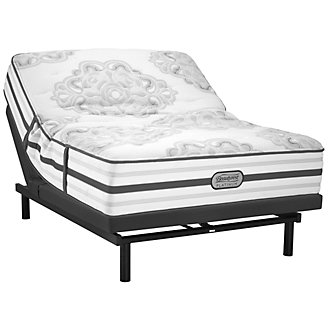 Beautyrest Platinum Brittany Plush SmartMotion™ 1.0 Adjustable Mattress Set