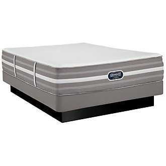 Beautyrest Nalani Luxury Firm Hybrid Low-Profile Mattress Set