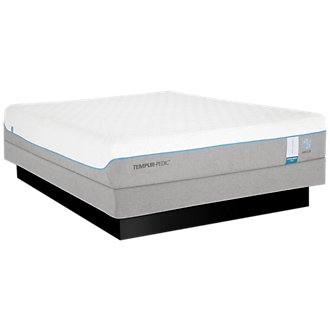 TEMPUR-Cloud® Supreme Breeze 2.0 Low-Profile Mattress Set