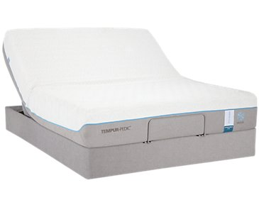 TEMPUR-Cloud® Supreme Breeze 2.0 TEMPUR-UP™ Adjustable Mattress Set
