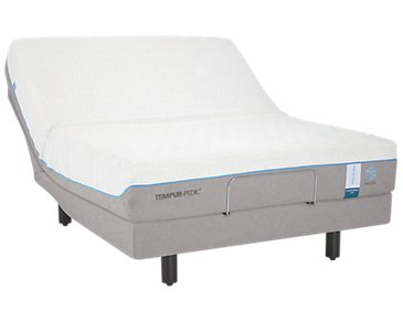 TEMPUR-Cloud® Supreme Breeze 2.0 TEMPUR-Ergo™ Premier Adjustable Mattress Set