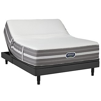 Beautyrest Marlee Plush SmartMotion™ 2.0 Adjustable Mattress Set