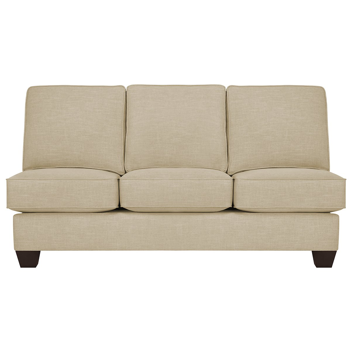 City Furniture York Beige Fabric Large Left Cuddler
