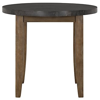 Emmett Stone Round High Dining Table