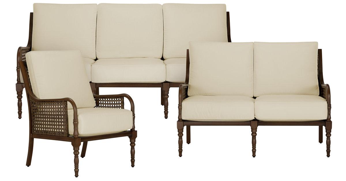 city furniture tradewinds dark tone outdoor living room set