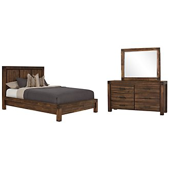 Holden Mid Tone Platform Bedroom