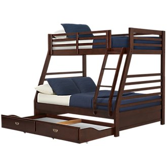Chad Dark Tone Storage Bunk Bed