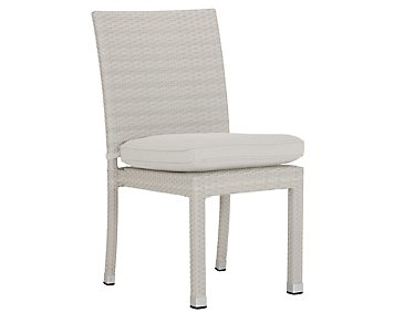 Bahia White Side Chair