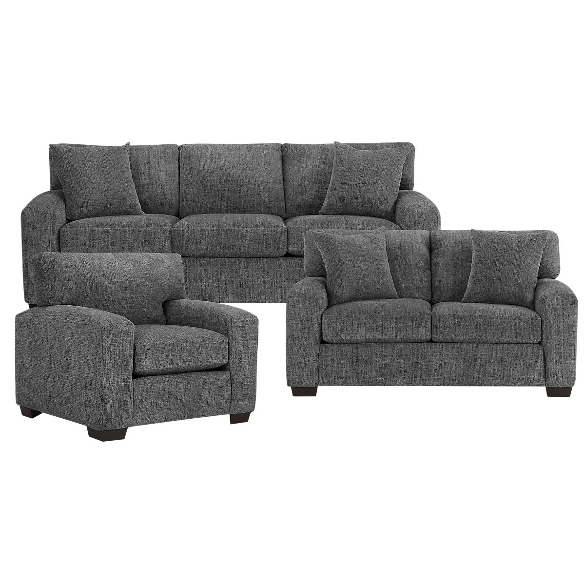 Microfiber Living Room Chairs City Furniture Living Room Furniture Living Room Sets