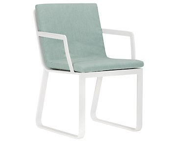 Ibiza Teal Arm Chair