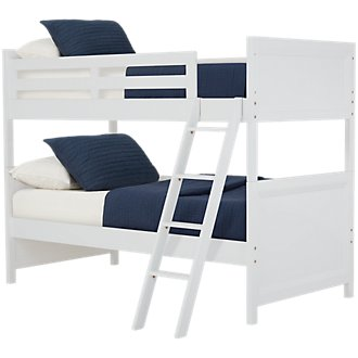 Ryder White Bunk Bed