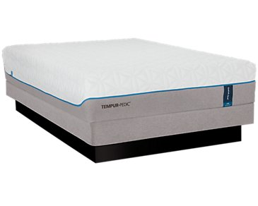 TEMPUR-Cloud® Luxe Low-Profile Mattress Set