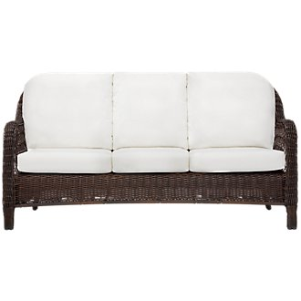 Cape White Sofa