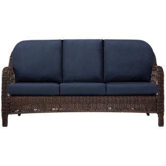Cape Dark Blue Sofa