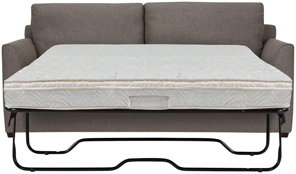 City Furniture Asheville Brown Fabric Innerspring Sleeper