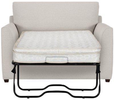 City Furniture Asheville Light Taupe Fabric Innerspring Sleeper