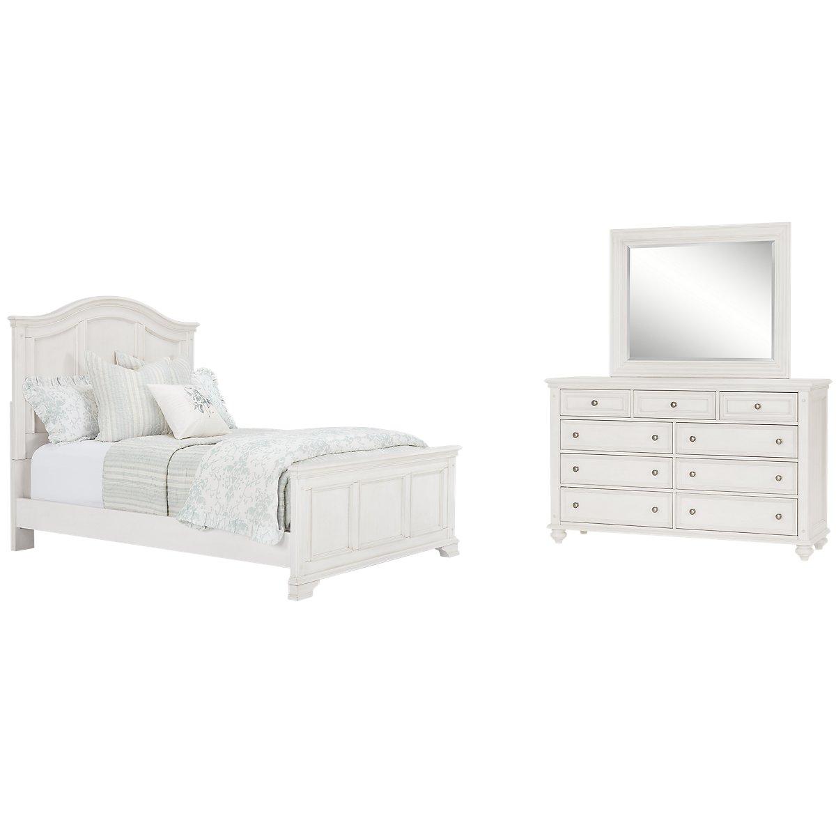 Savannah Bedroom Furniture City Furniture Savannah Ivory Panel Bedroom