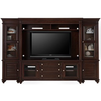 Savannah Dark Tone Entertainment Wall