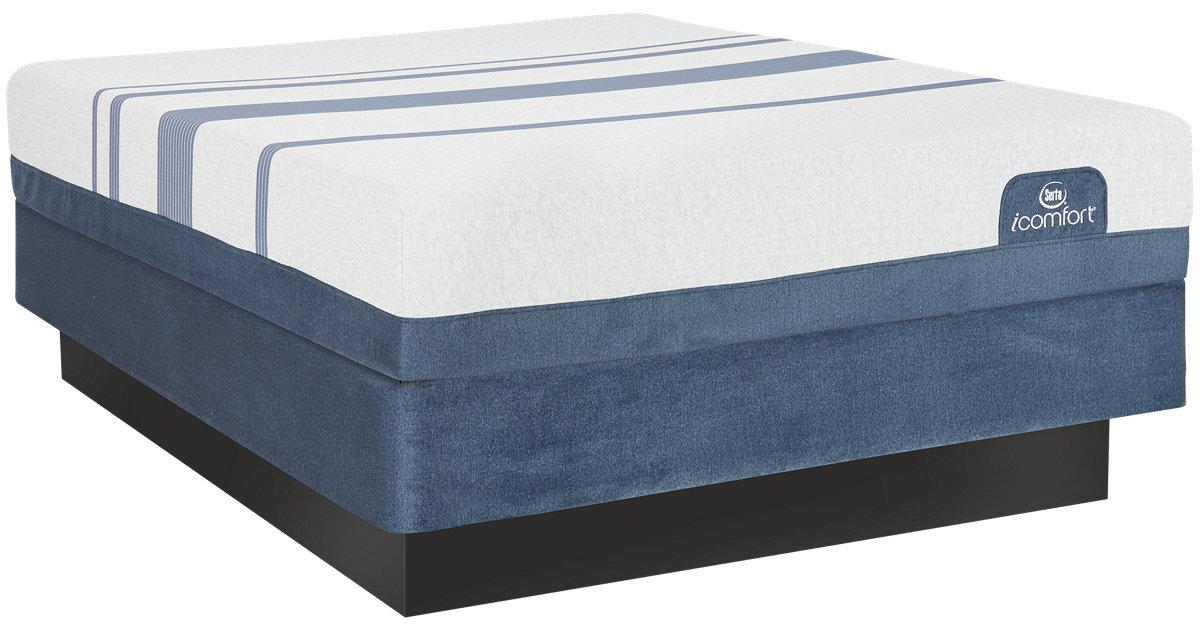 City Furniture Serta Icomfort Blue 300 Firm Mattress Set