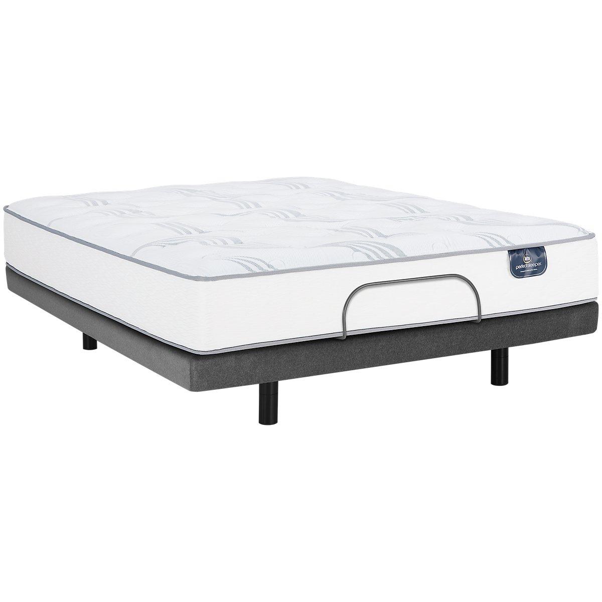 City furniture serta perfect sleeper cobbins plush elite for Furniture mattress city